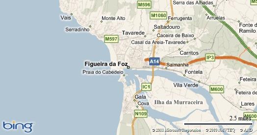 mapa da figueira da foz e arredores How I See The World: 09 08 2010 – Figueira da Foz (Portugal) mapa da figueira da foz e arredores