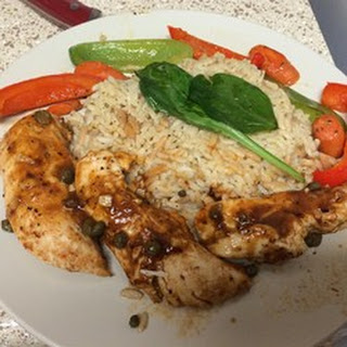Caper Baked Chicken.