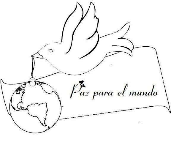 Dia De La Paz Dibujos Para Colorear Sobre Paz
