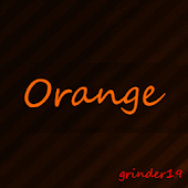 ORANGE ICONS APEX/NOVA/GOTHEME