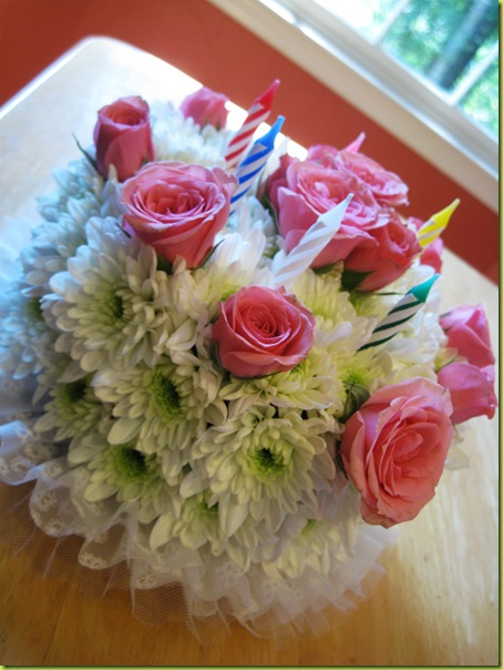 In Celebration Of My Upcoming Special Day 1 800 FLOWERS Sent Me An Early Birthday Bouquet A Lovely Flower Cake