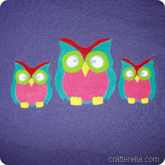 Painted owlies 1