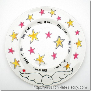 pass it on plate stars