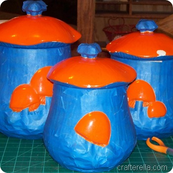 mushroom canisters during