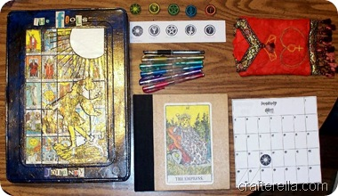 tarot card stamps 2