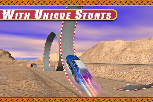 クレイジー車は 3Dをスタント