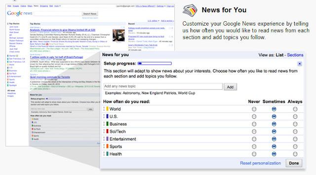 News for you: Benutzerdefinierte Nachrichten