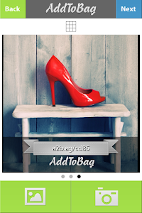 AddToBag : share to Instagram screenshot 1
