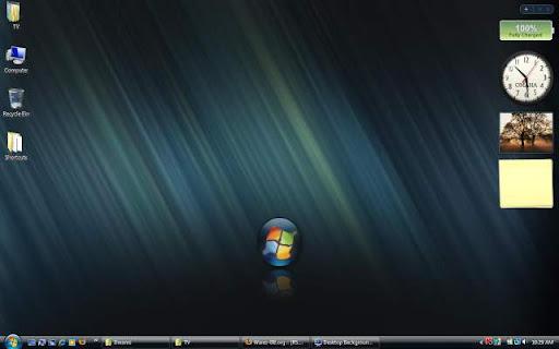 Windows vista dreamscene. Desktop background in vista ultimate.