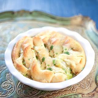 Potato Leek Pot Pie with Gruyere.