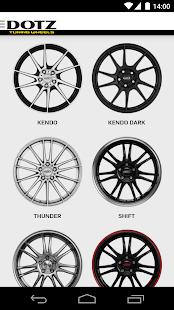 Dotz Wheels Configurator - screenshot thumbnail