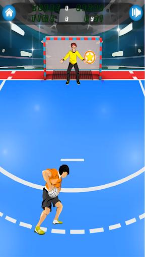 ハンドボールのゲーム