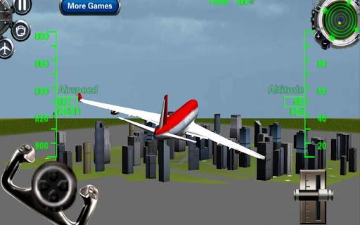 3D飛行機フライトシミュレータ2