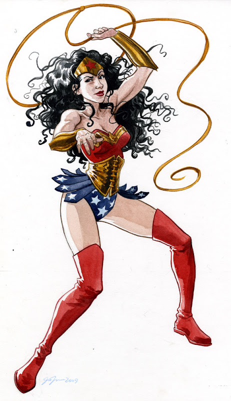 Wonder Woman by Jill Thompson.