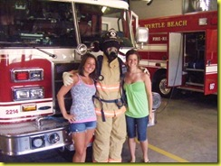 Jenna thought she was posing with fireman for their website not knowing it was Jon David