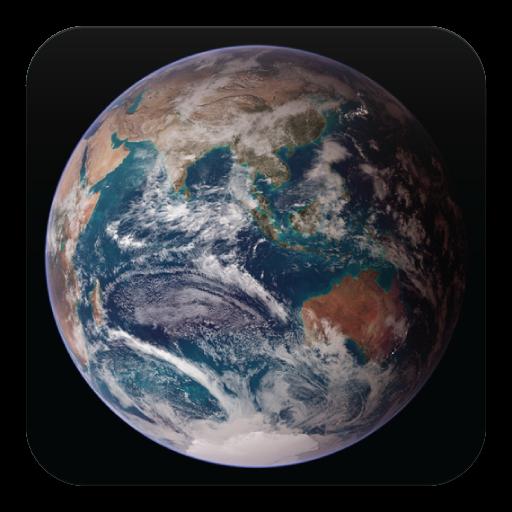 個人化App|3D地球动态壁纸 LOGO-3C達人阿輝的APP