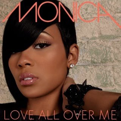 Monica - Love all over me | Single art