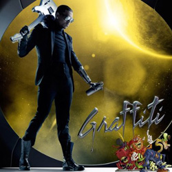 Chris Brown's 'Graffiti' album cover [Deluxe edition]