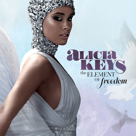 Alicia Keys' 'The element of freedom' album cover