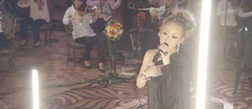 Kumi Koda throws it back at the 2009 FNS music festival