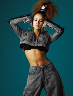 Hyori in Dazed & confused magazine | Photoshoot