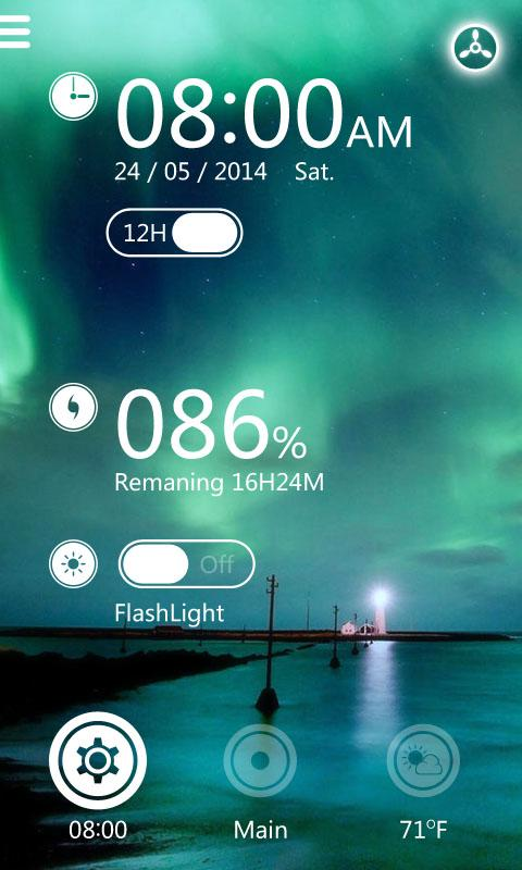 Relax GO Locker Theme- screenshot