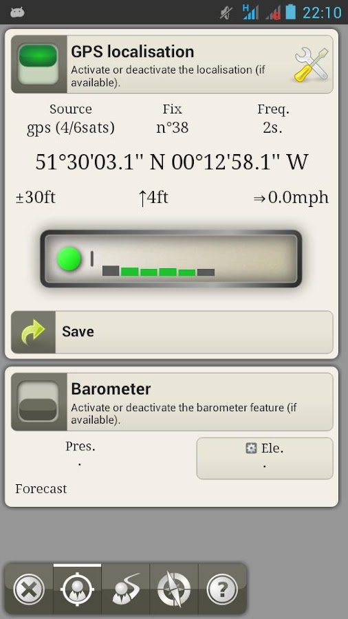 AlpineQuest GPS Hiking (Lite) - screenshot