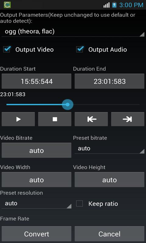 Media Converter - screenshot