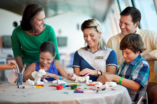 Celebrity_Silhouette_Kid_Craft - Relax while your kids get creative under the watchful eye of staff on board Celebrity Silhouette.