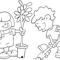 Dibujos Medio Ambiente Para Colorear