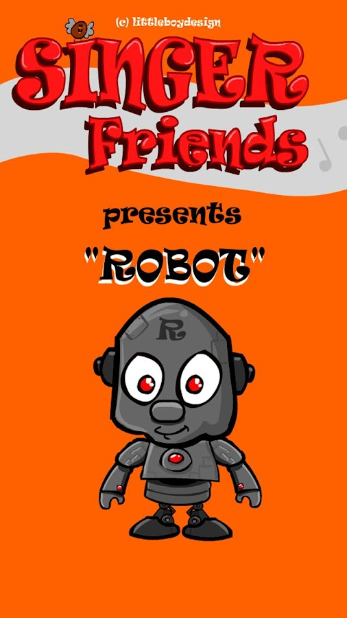 Singer Friends Robot - screenshot