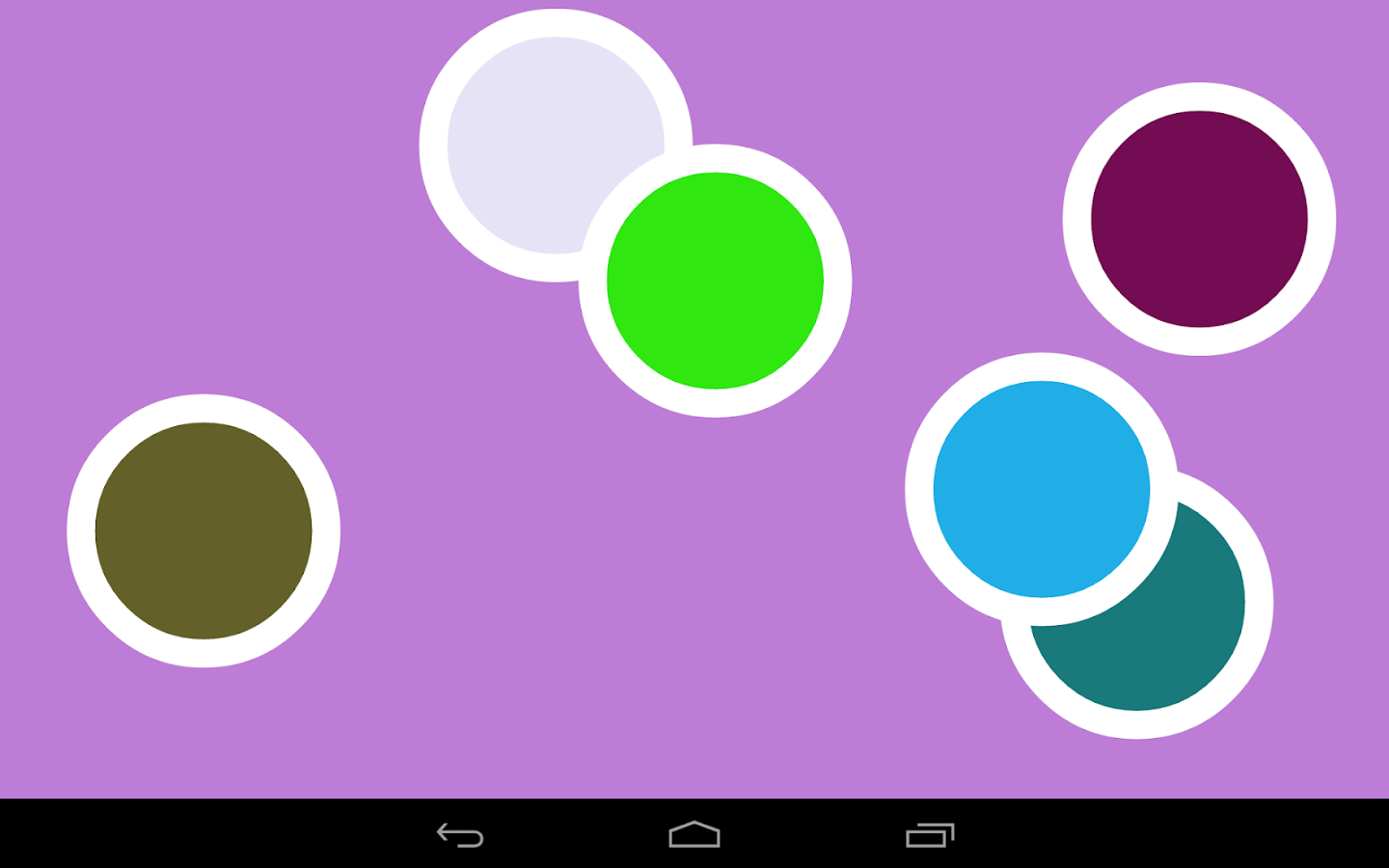 Color dots infant baby app android apps on google play for Color coordinated apps