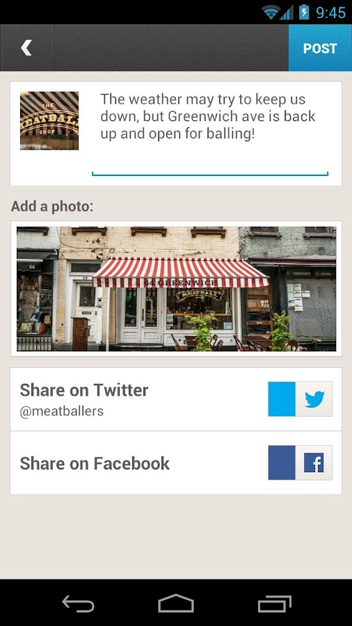 Foursquare for Business - screenshot