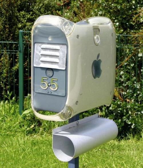 Buzón para los amantes de Apple