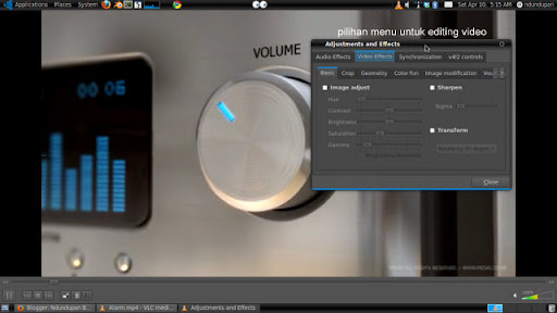 Editing Video with VLC 1