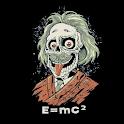 Albert Einstein Zombie 3D logo