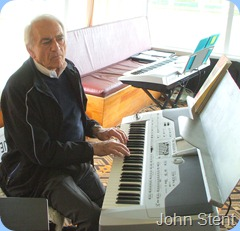John Stent getting the feel for the Korg Pa1X