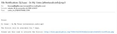 Mail de bigmailfile