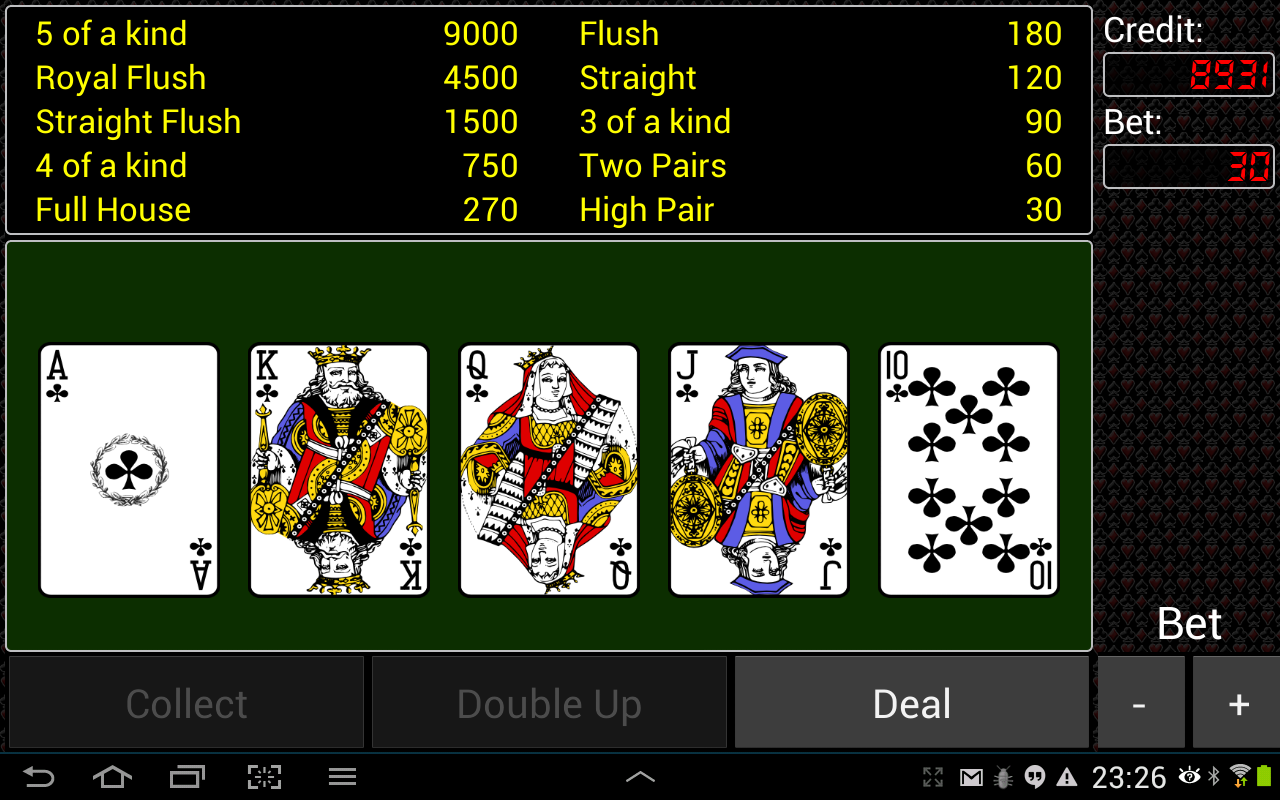 Video Poker Free- screenshot
