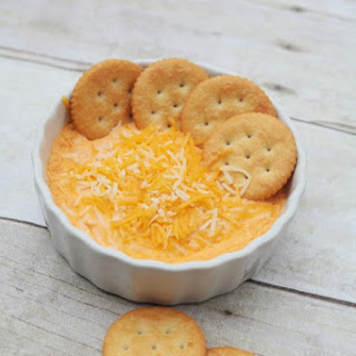 The Ultimate Buffalo Chicken Cheese Dip.
