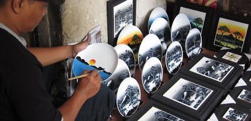 Artist on Malioboro Yogyakarta