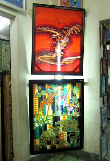 Batik for sale at Novi Art Center