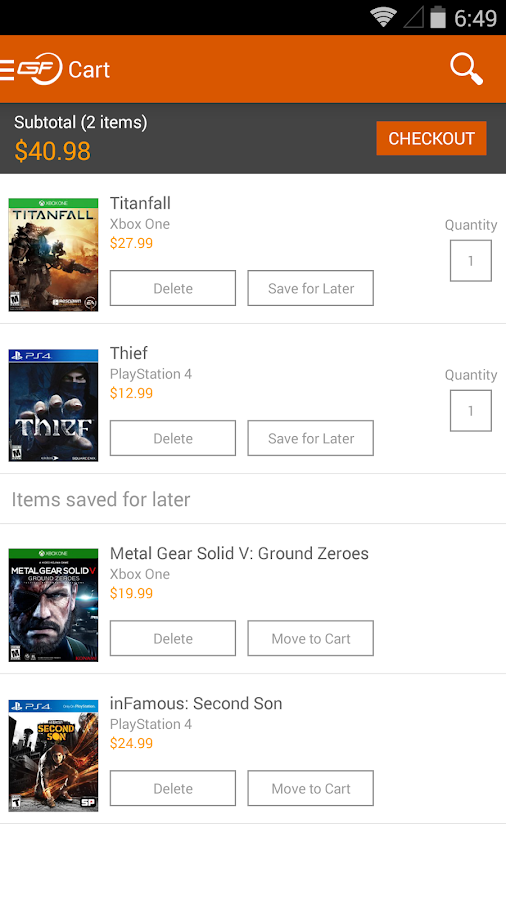GameFly - screenshot