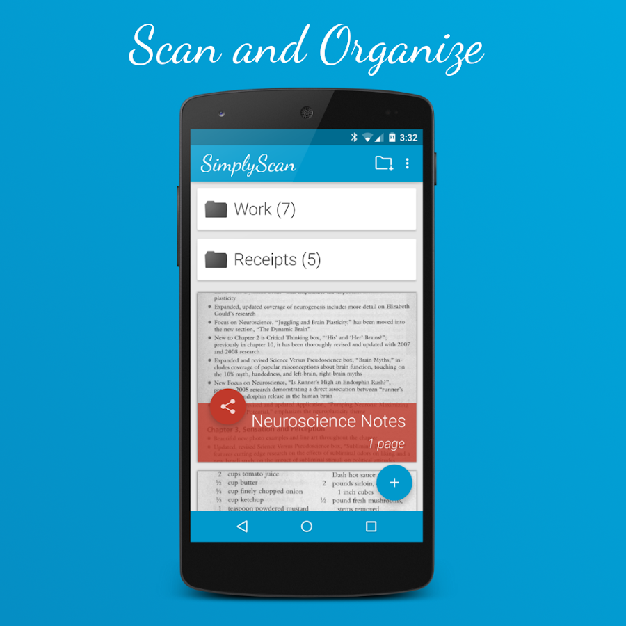 Simplyscan pdf camera scanner android apps on google play for Documents 5 android