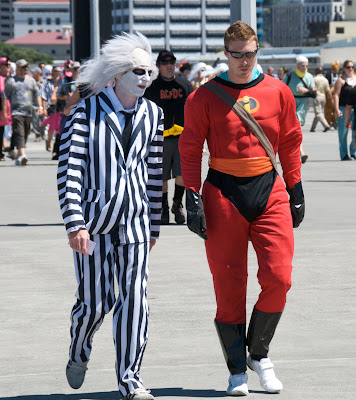 beetlejuice costume batman costume wellington sevens rugby tournament