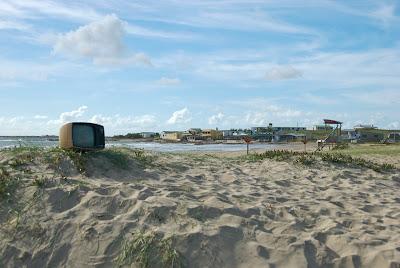 televison beach cabo polonio hostel uruguay