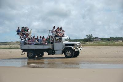 truck beach cabo polonio uruguay
