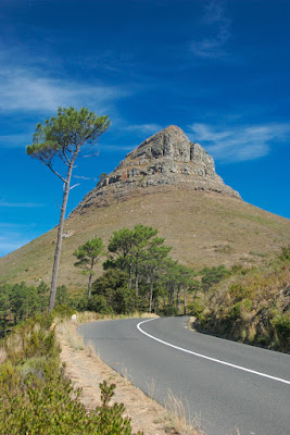 photo of lions head in cape town south africa