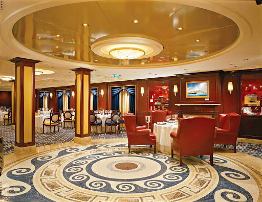 Celebrity_Constellation_OceanRestaurant - The detail in the interior design of Celebrity Constellation's Ocean Restaurant will impress.