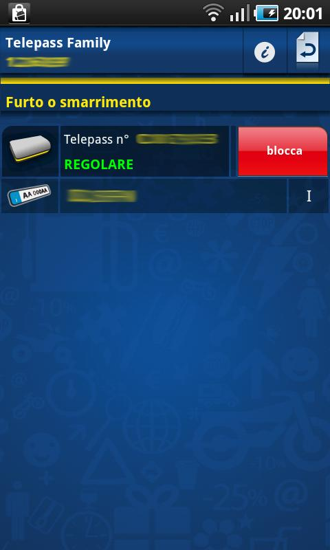 Telepass - screenshot